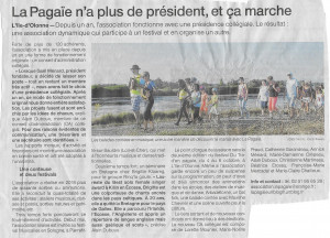 Article ouest france ag 2019